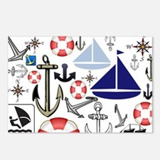 Naturally Nautical Postcards (Package of 8)