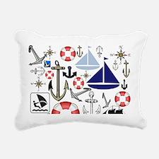 Naturally Nautical Rectangular Canvas Pillow