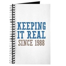 Keeping It Real Since 1988 Journal