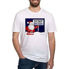 Santa Says Dump Bush T-shirt (USA)