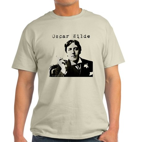 Oscar Wilde with Cigarette T-Shirt