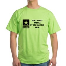 Army Dont Worry America T-Shirt