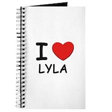 I love Lyla Journal
