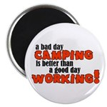 Bad Day Camping Magnet