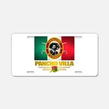 Pancho Villa Aluminum License Plate