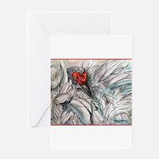 Sandhill Crane! Bird art Greeting Card