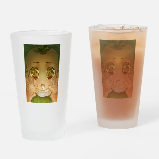 Anime Baby God Drinking Glass