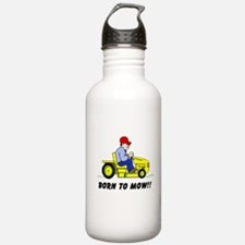 Born To Mow Water Bottle