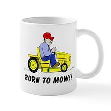 Born To Mow Mug