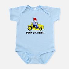Born To Mow Body Suit