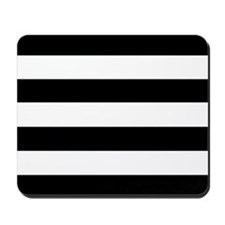 'Black & White' Mousepad