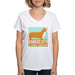 Kansas City corgi logo T-Shirt