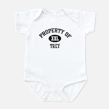 Property of Trey Infant Bodysuit