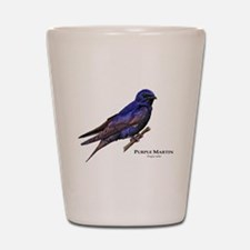 Purple Martin Shot Glass