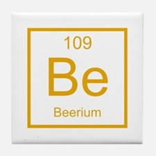 Be Beerium Element Tile Coaster