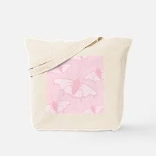 Pale Pink Butterflies. Tote Bag