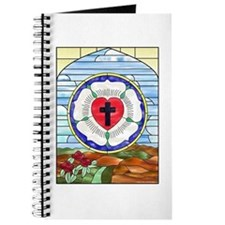 Luther Seal Stained Glass Window Journal