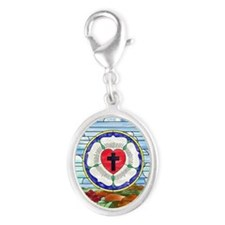 Luther Seal Stained Glass Window Charms