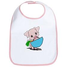 Piggy Went To Market Bib