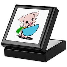 Piggy Went To Market Keepsake Box