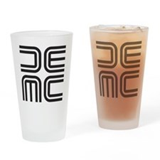 DEMC Classic Square Drinking Glass