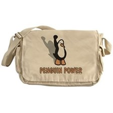 Penguin Power Messenger Bag