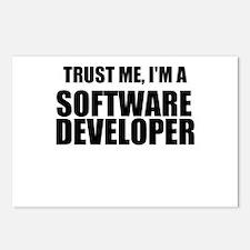 Trust Me, Im A Software Developer Postcards (Packa