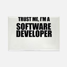Trust Me, Im A Software Developer Rectangle Magnet