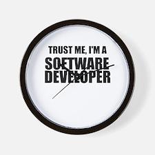 Trust Me, Im A Software Developer Wall Clock