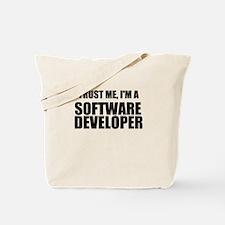 Trust Me, Im A Software Developer Tote Bag