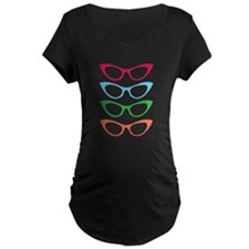 Colorful Shades Maternity T-Shirt