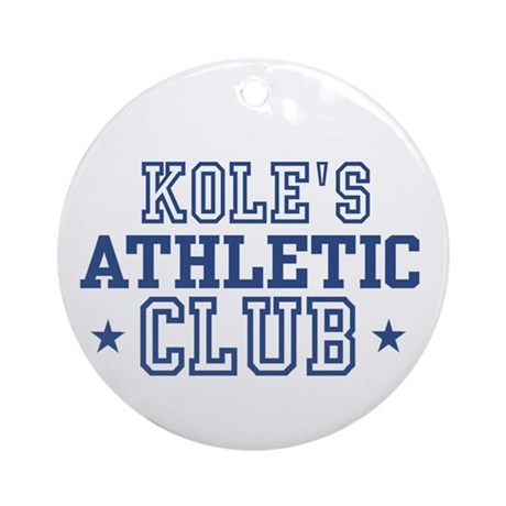 Kole Ornament (Round)