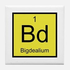 Bd Bigdealium Element Tile Coaster
