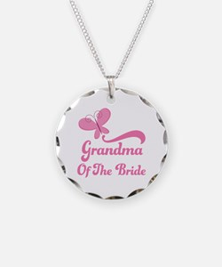 Grandma of the Bride Butterfly Necklace