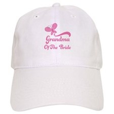Grandma of the Bride Butterfly Baseball Cap