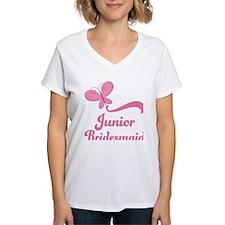 Junior Bridesmaid Butterfly Shirt