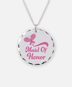 Maid of Honor Butterfly Necklace