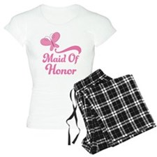 Maid of Honor Butterfly pajamas