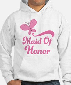 Maid of Honor Butterfly Hoodie