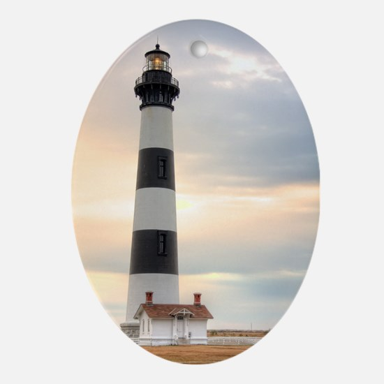 Lighthouse 02 Ornament (Oval)