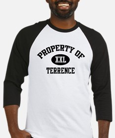 Property of Terrence Baseball Jersey