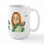 Kelly Perdue Weary Large Mug