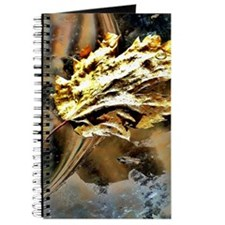 gold leaf painting Journal