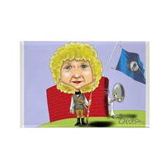 Roberta Roution Smith Rectangle Magnet