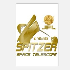Spitzer At 10! Postcards (Package of 8)