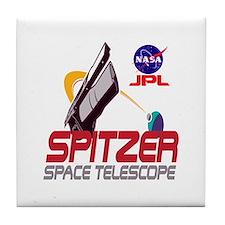 Spitzer Space Telescope Tile Coaster