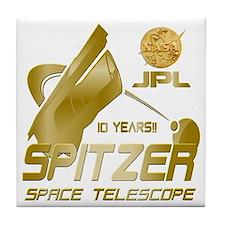 Spitzer At 10! Tile Coaster