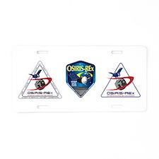 Spitzer Space Telescope Aluminum License Plate