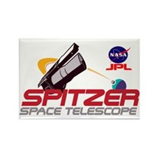 Spitzer Space Telescope Rectangle Magnet