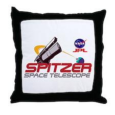 Spitzer Space Telescope Throw Pillow